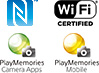 NFC and Wifi and PlayMemories
