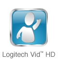 Includes Logitech Vid HD