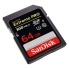 SanDisk 64GB Extreme Pro SDXC Memory Card - UHS-II  U3, 300MB/s Read, 260MB/s Write Support Full HD and cinema-quality 4K video recording