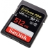 SanDisk 512GB Extreme Pro SDXC Card - UHS-I, Class10, V30, U3, Up to 170MB/s